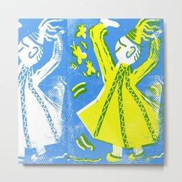 Sufi dancer Metal Print
