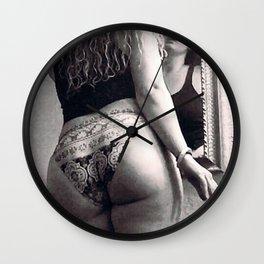 Smoke & mirrors Wall Clock