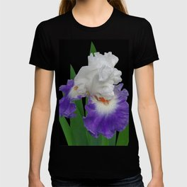 Iris 'Last Laugh' on black T-shirt