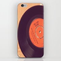 record iPhone & iPod Skins featuring Vintage Record  by secretgardenphotography [Nicola]