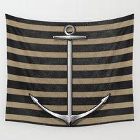 anchor Wall Tapestries featuring Anchor by pakowacz