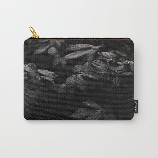 Black Leaf Carry-All Pouch