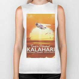 Kalahari Desert Adventure travel poster Biker Tank