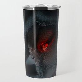 Medusa's Lament, the Eye of the Gorgon Travel Mug