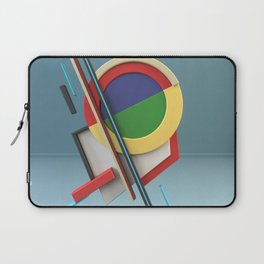 Constructivism & Suprematism in the style of Ivan Kliun (1 of 9) Laptop Sleeve