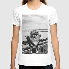 Looking At Lady Liberty T-shirt