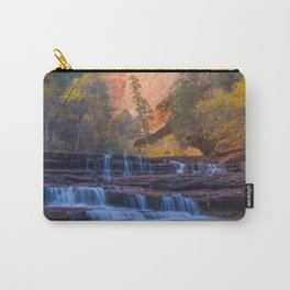 Archangel Falls in Autumn Carry-All Pouch