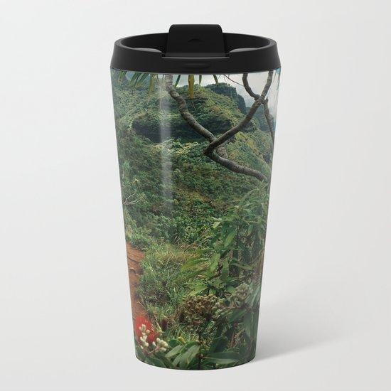 Kalalau Kauai Metal Travel Mug
