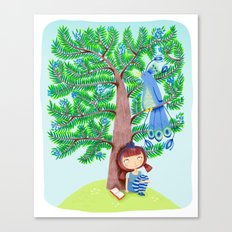 The Juniper Tree  Canvas Print