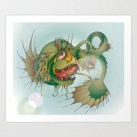 Seacreature Art Print