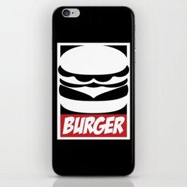 Obey Burger iPhone Skin