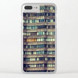 1350 Jubilate Clear iPhone Case