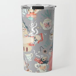 Tea Spirit pattern Travel Mug