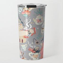 Tea Spirit pattern Travel Mug