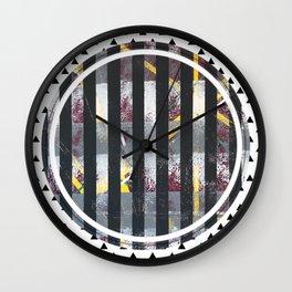 Polarised - small triangle graphic Wall Clock