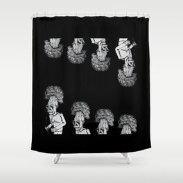 A Walk in the Park v2 Shower Curtain