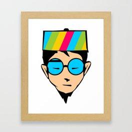 Aboki Framed Art Print