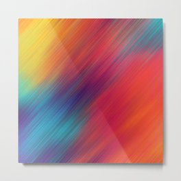 Color mix Metal Print