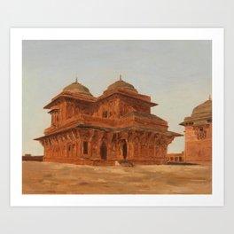 Fatehpur Sikri - Birbal's Palace - India Art Print