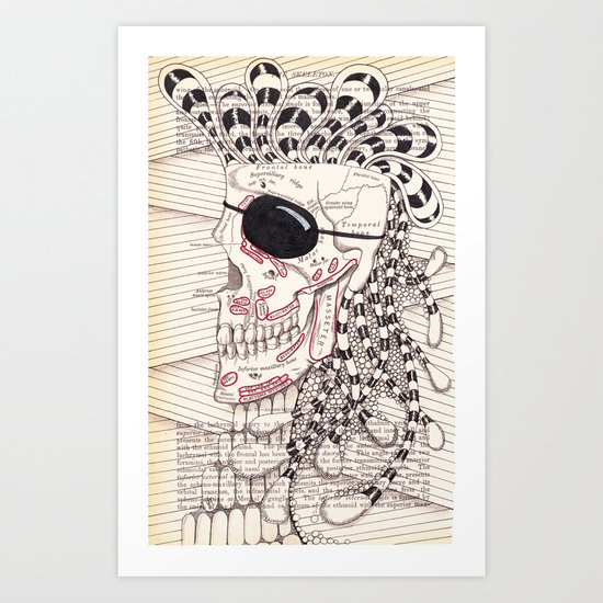 Pirate Art Print