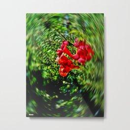 Blur Flower Metal Print