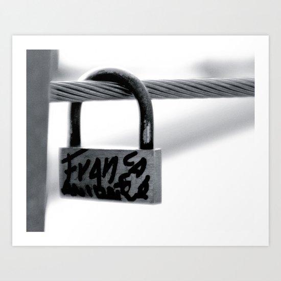 Love Locks 2012 49 Art Print