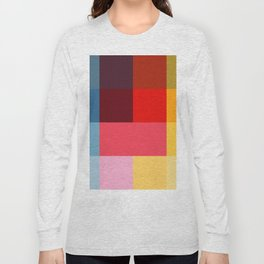 Chromatic squares Long Sleeve T-shirt