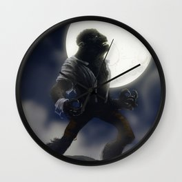 Wolfman Wall Clock