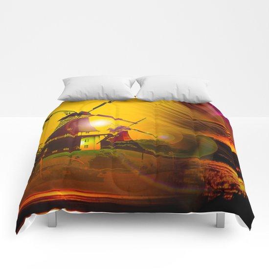 Greetsiel  Zwillingsmühlen Comforters