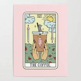 COFFEE READING UPDATED (LIGHT) Poster