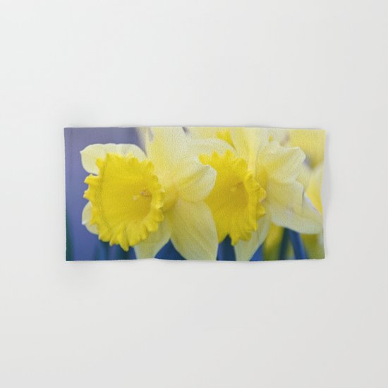 Yellow Narcissus #3 Hand & Bath Towel