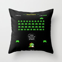 """inAdeguati"" Throw Pillow"