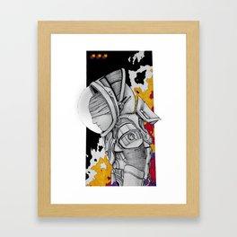 Space FLO Framed Art Print