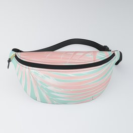 Palm Leaves Summer Vibes #9 #tropical #decor #art #society6 Fanny Pack