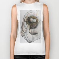gift card Biker Tanks featuring God's Greatest Gift by EloiseArt