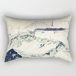 Flight Over Yatsugate Rectangular Pillow