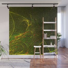 Solar Flare Waves Wall Mural