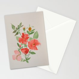 Fall Knockout Roses Stationery Cards