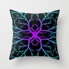 Icy Nerves Throw Pillow