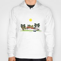 mexican Hoodies featuring Mexican Villa by Design4u Studio