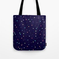 constellations Tote Bags featuring Constellations by Jenna Mhairi