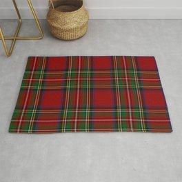 Royal Stewart Tartan Clan Rug