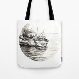 GHOST SHIP II Tote Bag