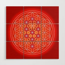 Flower of Life - Root Wood Wall Art