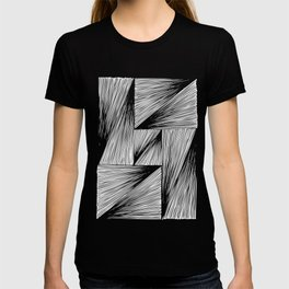 Triangle-rectangles T-shirt