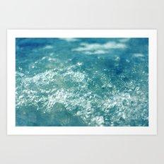 ocean 857 Art Print