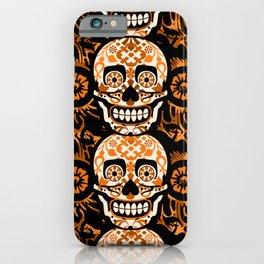 Halloween Calaveras iPhone Case