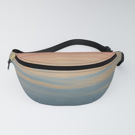 Watercolor Ocean Fanny Pack