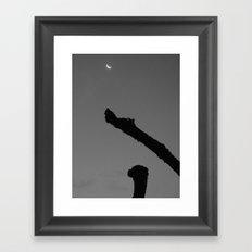 Cheshire Moonrise Framed Art Print