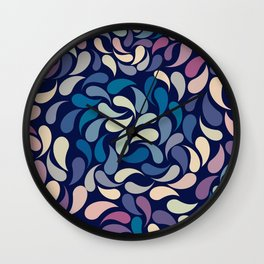 Petal Burst #32 Wall Clock